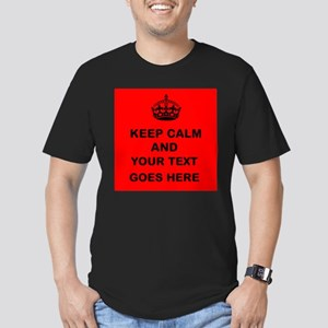 Keep calm and Your Text T-Shirt