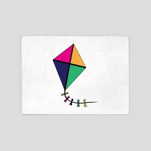 Flying Kite 5'x7'Area Rug