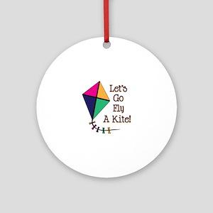 Fly a Kite Ornament (Round)
