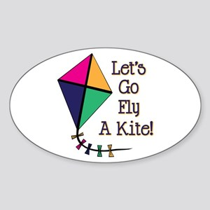 Fly a Kite Sticker