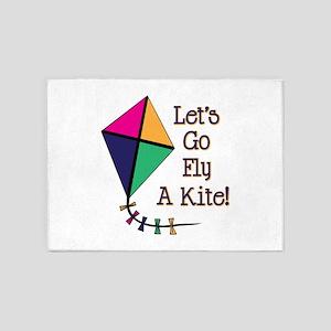 Fly a Kite 5'x7'Area Rug