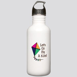 Fly a Kite Water Bottle