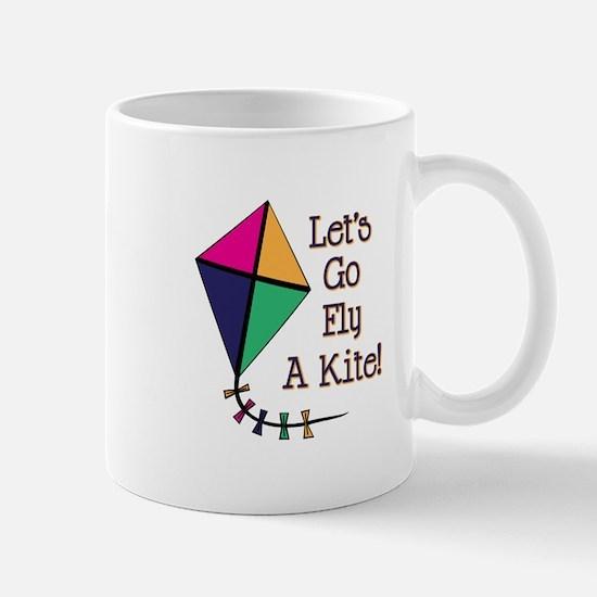 Fly a Kite Mugs