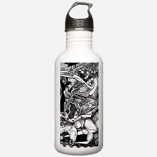 Cute Celtic mythology Water Bottle