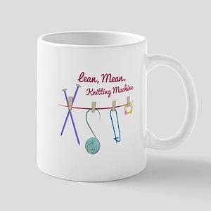 Knitting Machine Mugs
