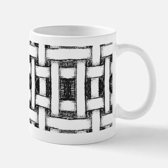 Hand drawn weave design Mugs