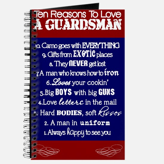 10 Reasons GUARDSMAN Journal