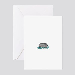 hippo Greeting Cards (Pk of 10)