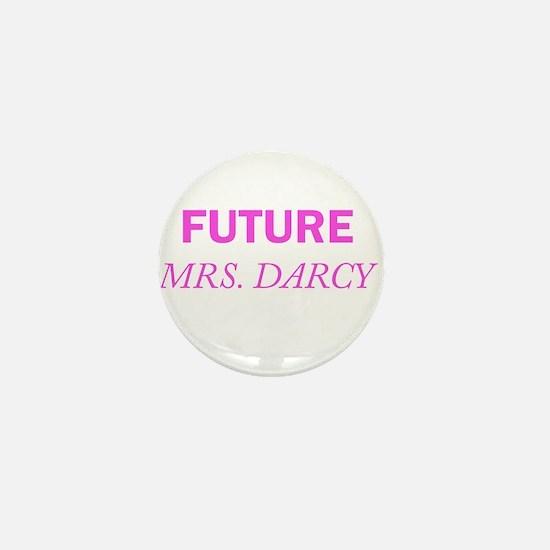 Future Mrs. Darcy Mini Button