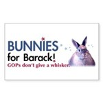 Bunnies for Barack (Rectangular)