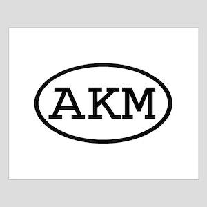 AKM Oval Small Poster