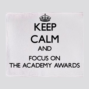 Keep Calm by focusing on The Academy Throw Blanket