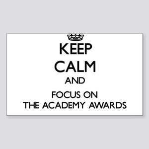 Keep Calm by focusing on The Academy Award Sticker