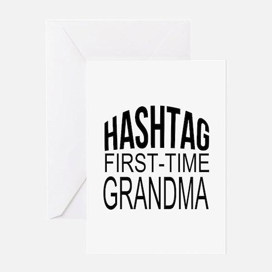 First Time Grandma Greeting Card