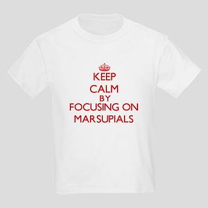 Keep Calm by focusing on Marsupials T-Shirt