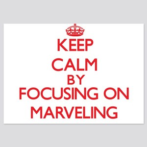 Keep Calm by focusing on Marveling Invitations