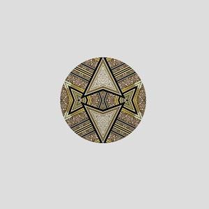 Art Deco Arrowz Mini Button
