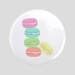 """French Macaron 3.5"""" Button"""