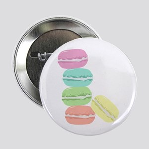 """French Macaron 2.25"""" Button (10 pack)"""