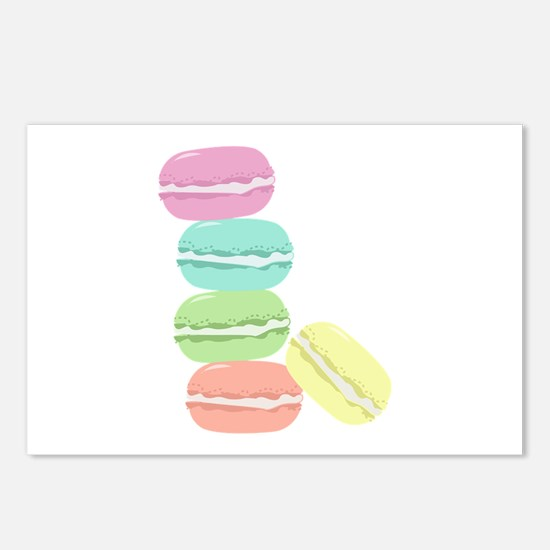 French Macaron Postcards (Package of 8)