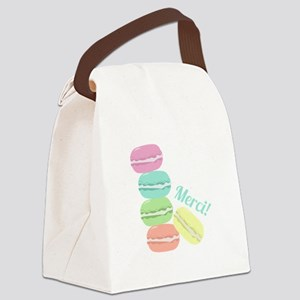 Merci! Cookies Canvas Lunch Bag