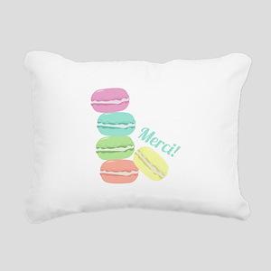 Merci! Cookies Rectangular Canvas Pillow