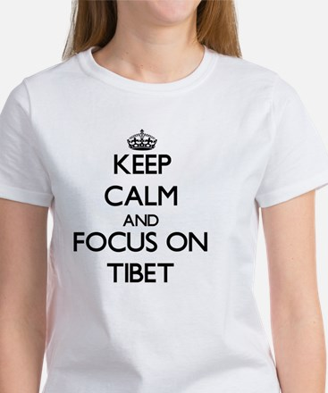 Keep Calm by focusing on Tibet T-Shirt