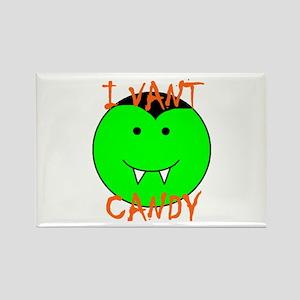 I VANT CANDY (VAMPIRE) Rectangle Magnet (100 pack)