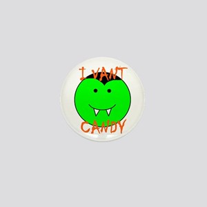 I VANT CANDY (VAMPIRE) Mini Button