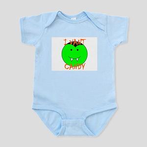 I VANT CANDY (VAMPIRE) Infant Bodysuit