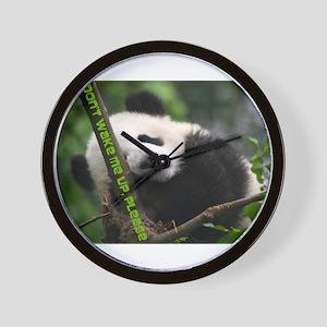 panda_dont_wake_me_up Wall Clock