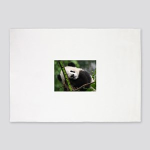 panda_dont_wake_me_up 5'x7'Area Rug