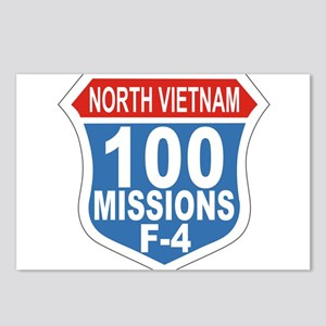 100 Missions F-4 Postcards (Package of 8)