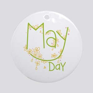 May Day Ornament (Round)