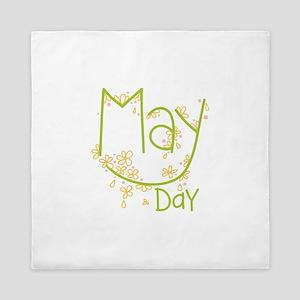 May Day Queen Duvet