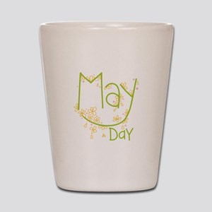 May Day Shot Glass