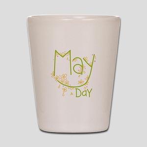 May Day Shot Glass
