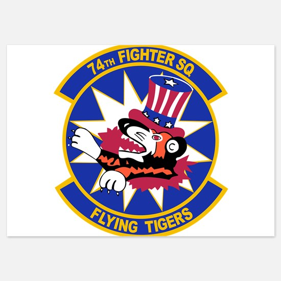 74th_fighter_sq_FLYING_TIGERS Invitations