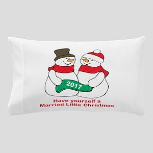 2017 Newlyweds Pillow Case