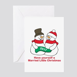 2017 Newlyweds Greeting Cards