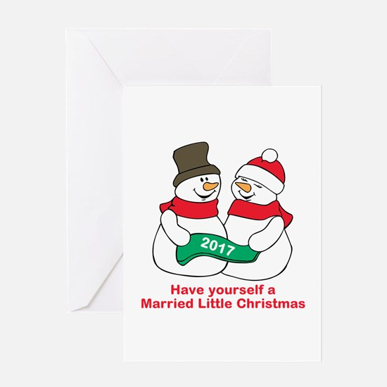 2017 Newlyweds Greeting Cards