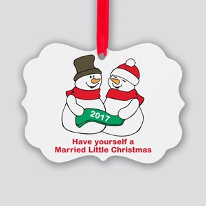 2017 Newlyweds Ornament