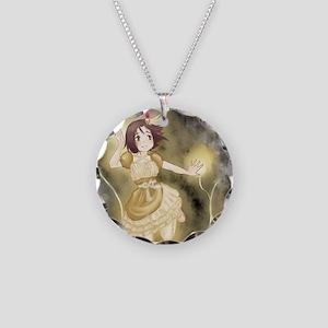Magic Gold Necklace Circle Charm