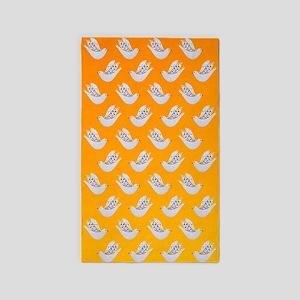 Peace Doves in Sunshine 3'x5' Area Rug