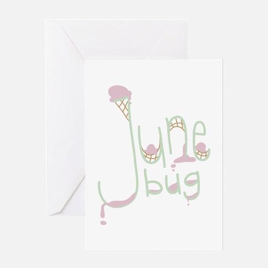 June Bug Greeting Cards