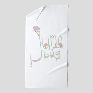 June Bug Beach Towel