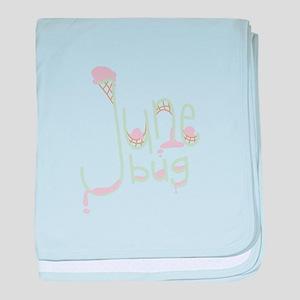 June Bug baby blanket