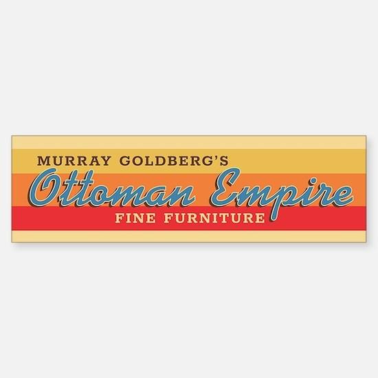 The Goldbergs Ottoman Empire Furniture Bumper Stic