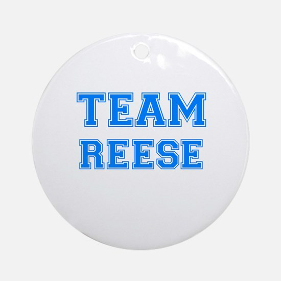 TEAM REESE Ornament (Round)