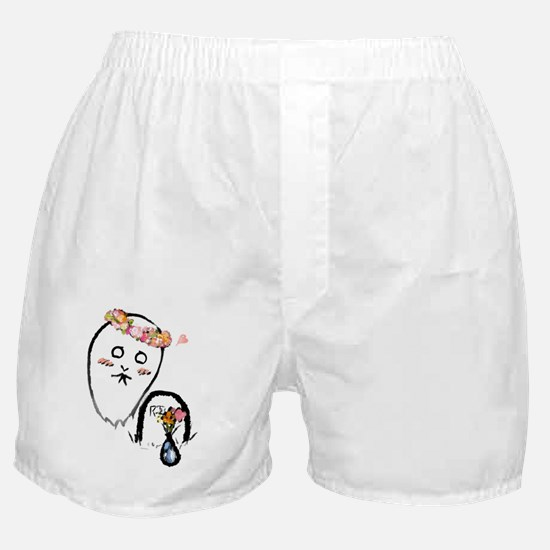 The Kawaii Ghost Boxer Shorts